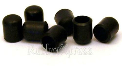 8 Pack 16mm Black Rubber /'B/' Type Ferrules