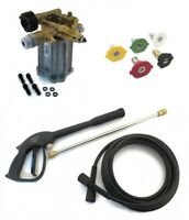 3000 Psi Power Pressure Washer Pump & Spray Kit - 2.5 Gpm For Etq Tpw2500