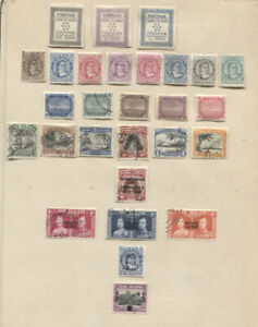 Cook-Islands-Collection-MLH-Used-CV-400-00-On-Yvert-Page-ex-Riviera