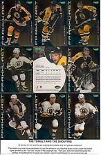 2001-02 Parkhurst by ITG Boston Bruins Regular Team Set (15)
