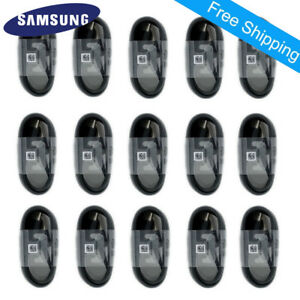 OEM Samsung Galaxy S9 S8 Plus Note 9 8 USB-C Type C Cable Fast Charging Cord Lot