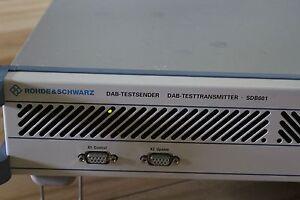 rohde schwarz dab test sender dab test transmitter. Black Bedroom Furniture Sets. Home Design Ideas