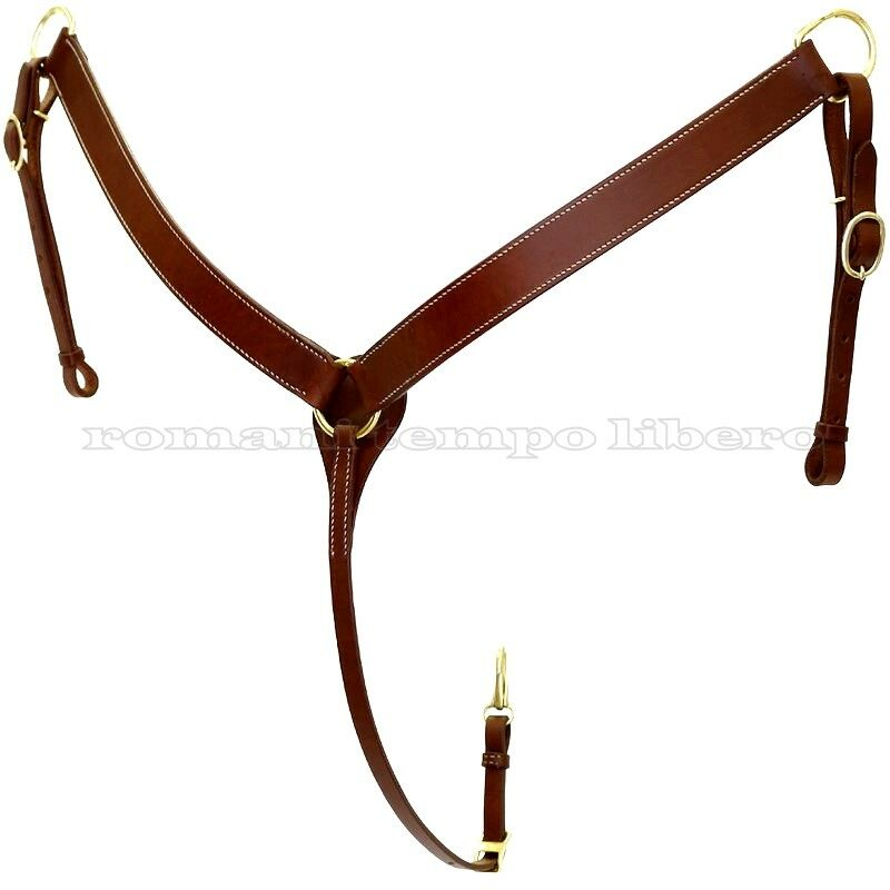 Pectoral Western Leather -  Western Horse Breast Collars Leather  sale online discount low price