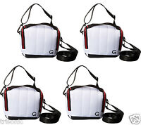 Lot Of 4 Golla Fits Mirrorless Camera & Lens Or Dslr White Bag Iona Stylist Case