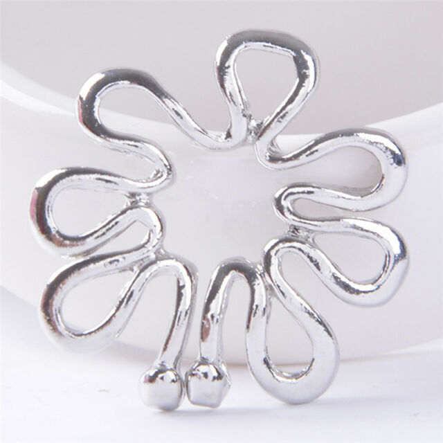 Adjustable Non Pierced Clip Nipple Ring Shield Cover Clamp Piercing Jewelry