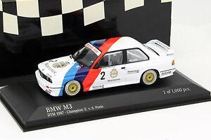 BMW-m3-e30-2-DTM-CHAMPION-1987-Eric-van-de-Poele-1-43-Minichamps