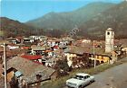Cartolina - Postcard - Brosso - Panorama - Auto d'epoca - anni '50