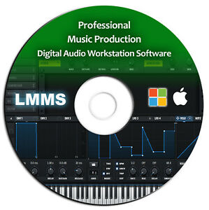 Details about Pro Music Production-MultiTrack Audio  Editing-Mixing-Recording DAW Software-Beat