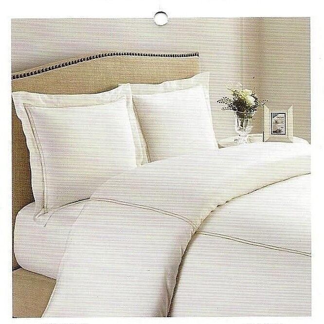 New Home Environment 100% Bamboo 3PC Duvet Cover Set Queen or King Off-White
