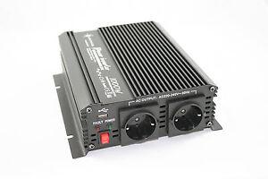 Spannungswandler-12V-1000-2000-Watt-Inverter-Wechselrichter