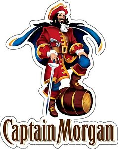 CAPTAIN-MORGAN-Sticker-Decal-DIFFERENT-SIZES-Rum-Alcohol-Car-Bumper-Bar-Wall