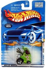 2001 Hot Wheels #29 First Edition Hyper Mite with pink checkers