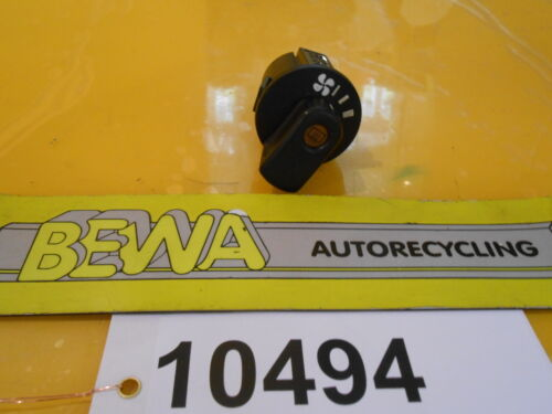 Interrupteur//Ventilateur//vitre arrière OPEL KADETT E 90340744 Nº 10494//e