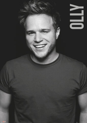 Official Olly Murs Black And White Maxi Poster 91.5 x 61 cm Never Been Better