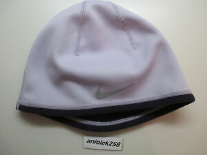 Nike women s therma-fit running hat   cap   beanie reversible light ... ac6786b34c74
