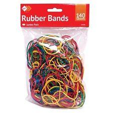 Bandas de goma elásticas de color para el Hogar Escuela Oficina 140gm enorme paquete 250 un.