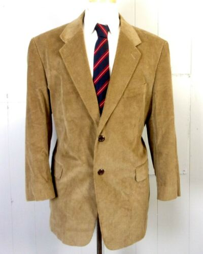 euc Stafford men's Beige/Light Brown 100% Cotton C