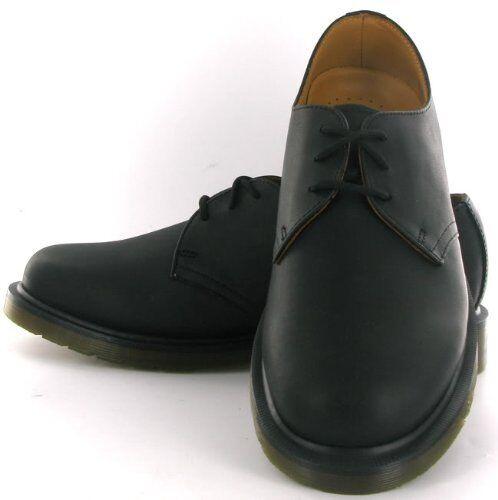 Men s Dr Martens Black Greasy 1461 PW 3 Eyelet Shoe UK 12 EU 47 US 13 for  sale online  eac5f21de884
