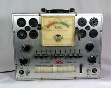 Vintage Eico 625 Tube Tester 2 Lights Up Dial Centers Etc