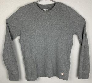 Levis-Gray-Long-Sleeve-Sweatshirt-Mens-S-Small