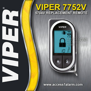 viper 7752v 2 way lcd replacement remote control transmitter for rh ebay com  viper sst rpn 7752v manual