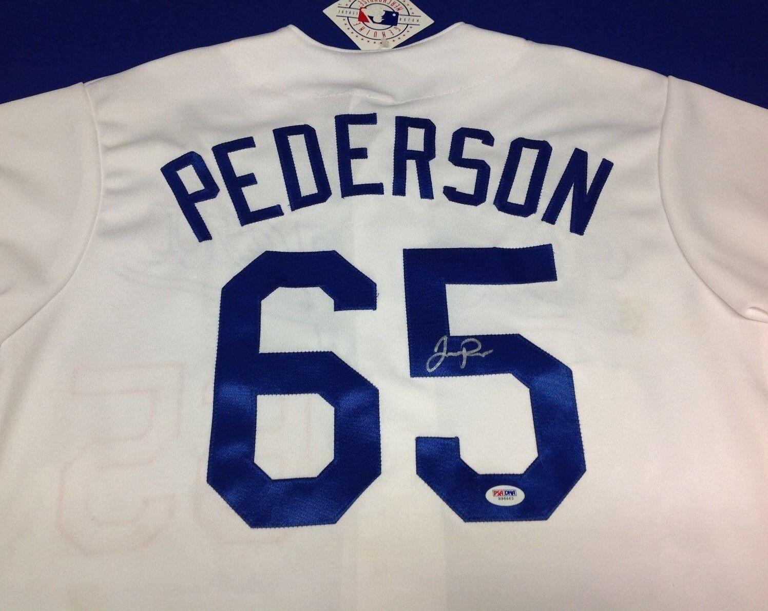 Joc Pederson Signed Los Angeles Dodgers Majestic Jersey - PSA/DNA # R96663