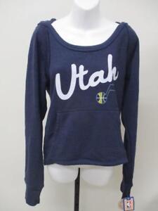 New Utah Jazz Womens Size S-M-XL Blue Hoodie MSRP