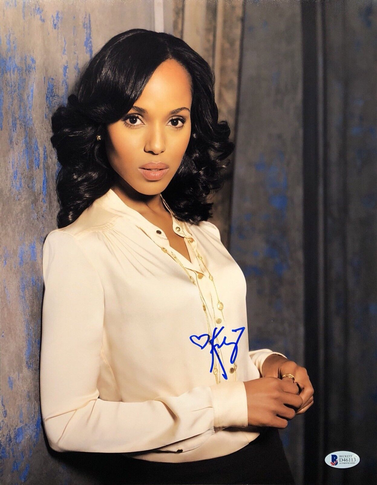 Kerry Washington Signed 11x14 Photo *Model *Django Unchained *Scandal Beckett
