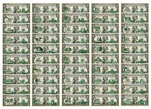 One-Dollar Currency *Green* HAWAII State $1 Bill *Genuine Legal Tender* U.S