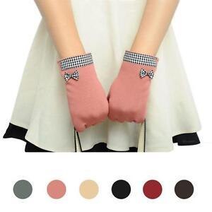 damen m dchen touchscreen handschuhe baumwolle winter warm. Black Bedroom Furniture Sets. Home Design Ideas