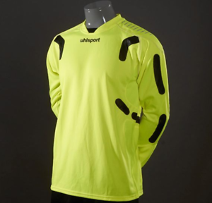 Uhlsport TorwartTechnik Abrasion Nano Tech Soccer Pro Goalkeeper Jersey NEON XL