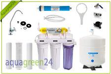 Aquagreen Osmoseanlage 6Stufiger Wasserfilter mit Vital-Filter Umkehr-Osmose