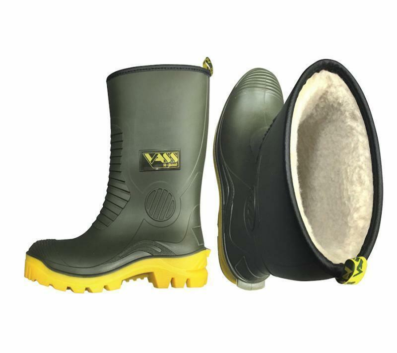 NEW VASS NEW WINTER FUR LINED  WELLINGTON BOOT    FISHING BOOT 3 4 LENGTH  select from the newest brands like