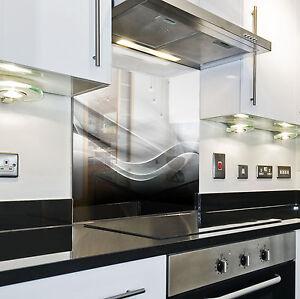 Splashback paraschizzi paraspruzzi rivestimento cucina sfondo struttura bianco ebay - Rivestimento cucina bianco ...