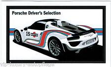 """Porsche 917 Spyder Driver`s Selection Aufkleber 45x79 mm"