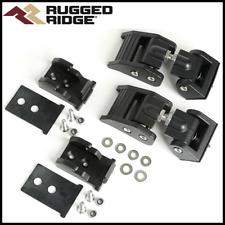 Rugged Ridge Black Hood Catch Fits 1997 2006 Jeep Wrangler Tj Fits 1997 Jeep Wrangler