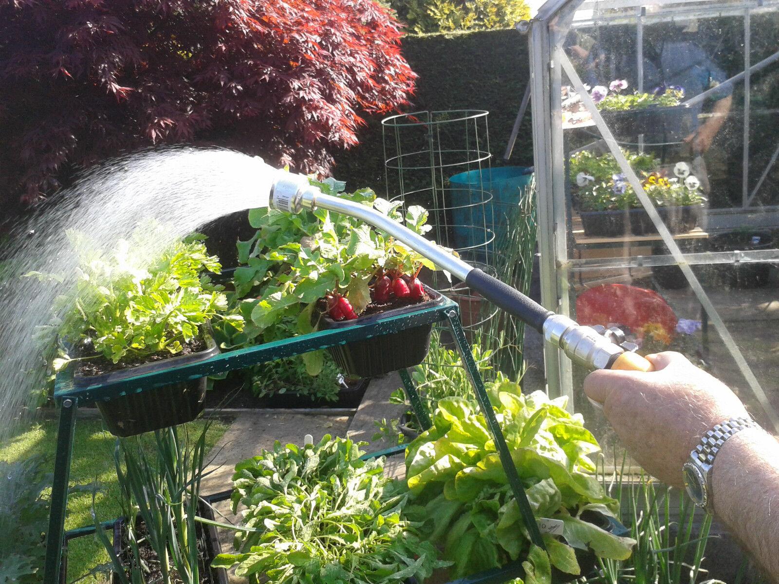 40cm Watering Lance Professional Soft Rain Rose Aluminium Greenhouse Hosepipe