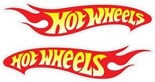"Hot Wheels Racing Vinyl Decal Sticker Set of 2-(2""x8"")"