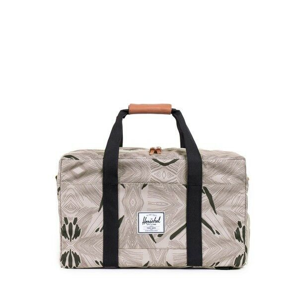 Herschel Supply Co Keats Duffel Bag in Geo/Black NWT