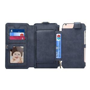 Huawei P10 Plus Handy Mobile Hülle Tasche Case Etui Blau 6848D
