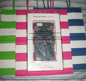 Vera-Bradley-Cat-CamoKitty-Snap-on-Case-for-iPhone-6-NEW-in-Package-Tags