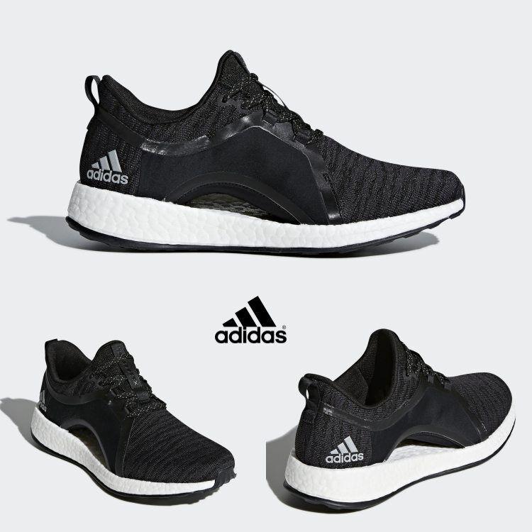 Adidas femmes  Pure Bottes   Boost Runner Shoes Comfy Noir  Gris  BY8928 SZ4-12
