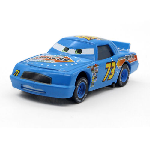 Cars No.4-No.123 Racers Mcqueen Chick Hicks the King Metal Toy Car 1:55 Loose