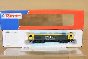 ROCO-63444-Digital-RENFE-clase-BR-D319-402-4-Diesel-Loco-Menta-En-Caja-NL