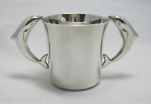 Stunning-Sterling-Silver-Child-or-Christening-Cup-Tiffany-amp-Co-New-York-yr2000