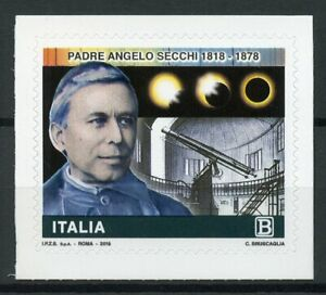 Italy-2018-MNH-Angelo-Secchi-Astronomer-1v-S-A-Set-Astronomy-Space-Stamps