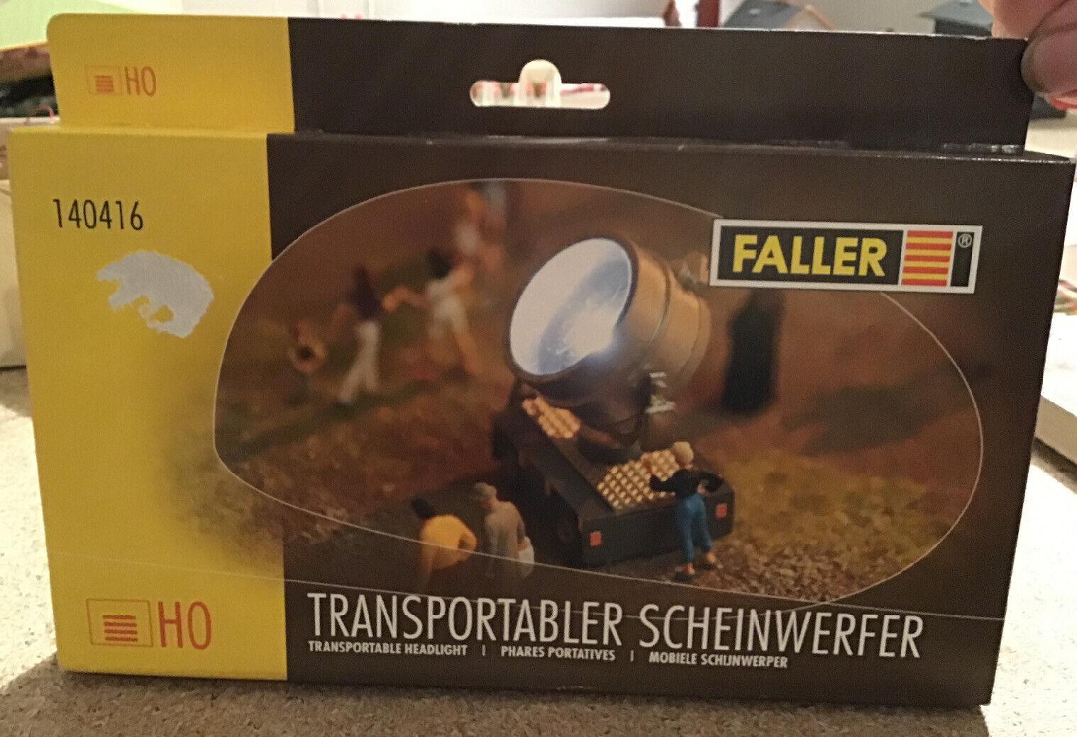 Faller H0 140416 Transportabler Scheinwerfer Bausatz Neuware