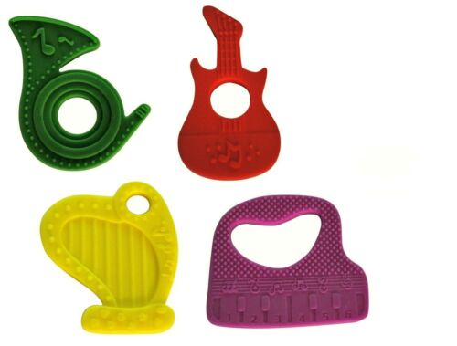 The Best Silicone Baby Teether 4 pack New