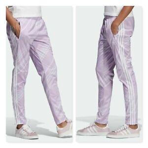 Adidas-impresion-de-panuelo-para-mujer-Superstar-Pantalones-de-pista-tamano-au-14-o-nos-M