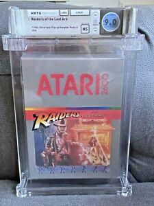 1982 Atari 2600 Raiders of the Lost Ark Graded WATA 9.0 Sealed NS Indiana Jones